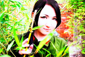 from behind the bamboo by kurisuju