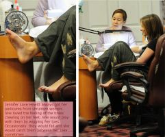Jennifer Love Hewitt Pedicure by bassology88