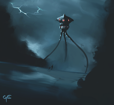 War of The Worlds by George-Eracleous