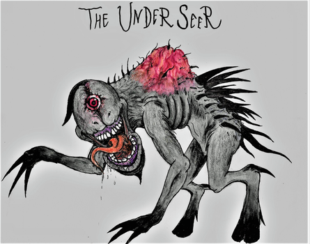 The Underseer (OC Request) by Tsnophaljakarax