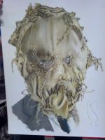 Scarecrow Colored Up by corysmithart