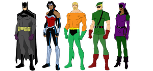 My Dc Reboot Earth 2 Lineup 4 by jsenior