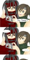 Vincent and Yuffie Comic by Culv