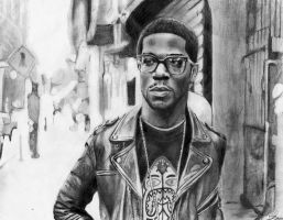 Kid Cudi Pencil art by airjm23