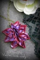 Devious Dahlia: Vulva Necklace by VulvaLoveLovely