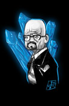 50 Day Sketches. #10: Breaking Bad by PacoSantoyo