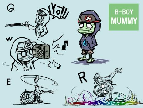 amumu skin idea by ms05zaku
