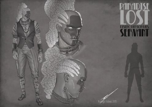Paradise Lost Comic Project Character Desing-05 by RodrigoTobias