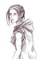 Hooded Elf by akatheToad