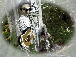 dead johnny cash puppet by cannibol