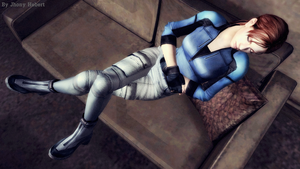 Jill Valentine - Sleeping by JhonyHebert