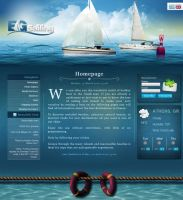EG Sailing - Web Design by son-of-a-biscuit