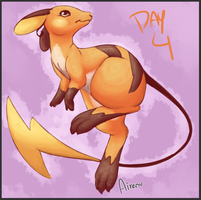 Pokeddexy Challenge Day 4 by Airenu-ish