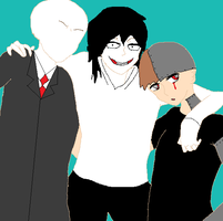 Creepypasta guyfriends by kisamelover34