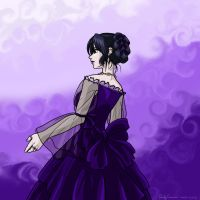The Lady in Purple by OtakuEC