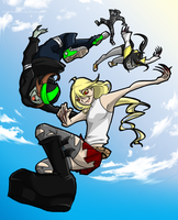 L4D - OMG HUGS FROM THE SKY by kanzeNatsume