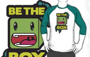 Be The Box Shirt Design by VHCrow