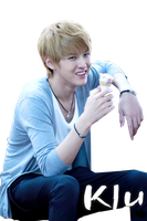 Kris Exo on Airport render png by poubery