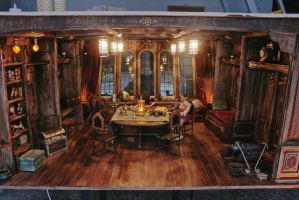 Pirate Ship Captain's Room 1/6 Diorama by slash79