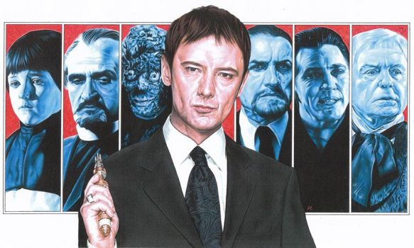 Doctor Who - The Masters by caldwellart