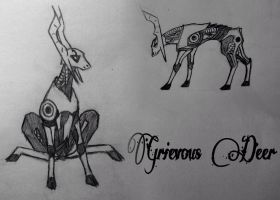 Grievous Deer by GuardianOfNightmares