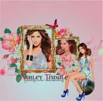 Ashley Tisdale by loveelydesigns