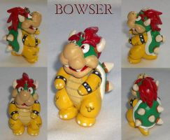 Bowser Charm by KingMelissa
