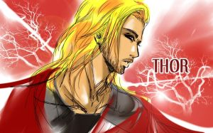 Thor by Oroken