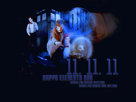 Happy 11.11.11 by cheesepuffster
