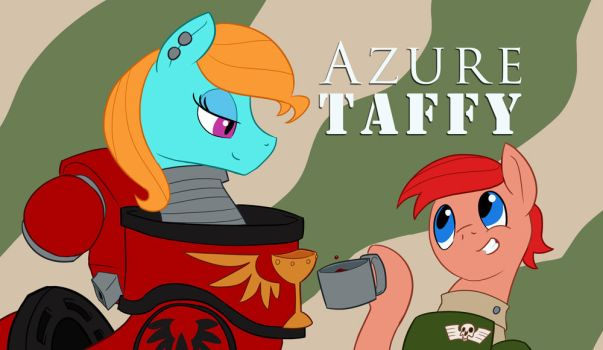 Azure and Taffy by Sanity-X