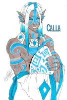 Calanthra - Calla by spikecomix
