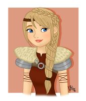 Astrid Hofferson by valloria