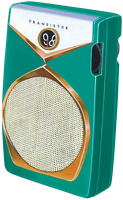 Retro Radio PNG by AbsurdWordPreferred