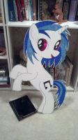Giant Vinyl Scratch Cutout by Oceanblue-Art