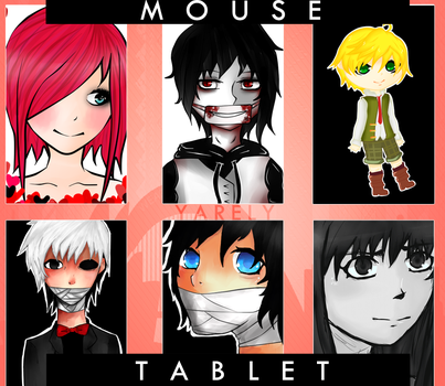 MOUSE - TABLET by MikuNee01