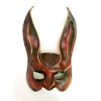 Red Rabbit Leather Mask beautiful a little freaky by teonova