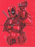 Deadpool 40 by Hodges-Art
