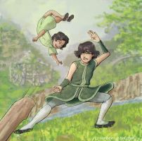 [LoK] The Beifong Sisters by november-branches