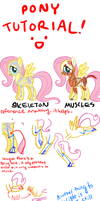 Tutorial - Drawing Ponies by Bananers97