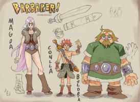 The Worst Barbarians by weremole