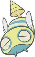 206. Dunsparce by HappyCrumble