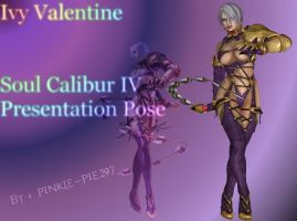 Ivy Valentine Soul Calibur IV Presentation Pose by Pinkie-Pie297