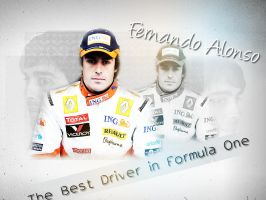 Fernando Alonso by Rosiu46