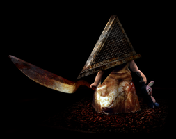 Chibi Pyramid Head by kichigai