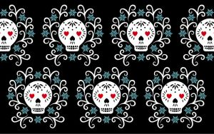 Day of the Dead Wallpaper 2 by lain56