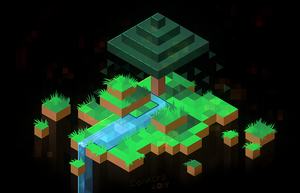 Minecraft in Hexels by DeceptiBonk