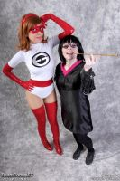 Edna Mode... and Guest. by MomoKurumi