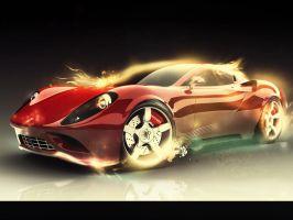 02. Ferrari Dino by sfegraphics