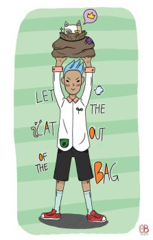 idioms pt.2 - Let the cat out of the bag by Turquoise-luck