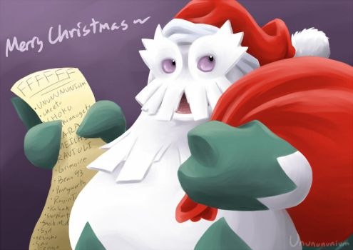 SANTABOMA says MERRY CHRISTMAS by unbadger